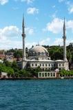 beylerbeyi伊斯坦布尔清真寺火鸡 免版税库存图片