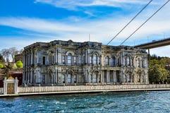 Beylerbeyi宫殿在伊斯坦布尔,土耳其 库存图片