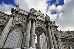beylerbeyi Istanbul pałac indyk obraz royalty free