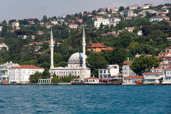 Beylerbeyi Mosque in Istanbul Royalty Free Stock Photos