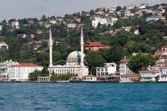 Beylerbeyi Mosque in Istanbul Royalty Free Stock Photos