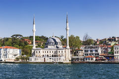 Beylerbeyi Mosque in Uskudar, Istanbul City, Stock Photo