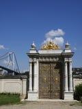 Beylerbeyi Palace, gate Stock Image