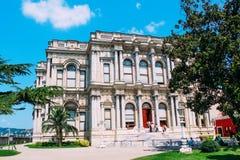 Beylerbeyi Palace historical landmark at Istanbul, Turkey royalty free stock photo