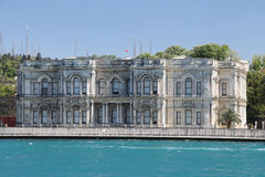 Beylerbeyi Palace in Istanbul City, Turkey Royalty Free Stock Photography