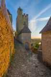 Beynac castle or chateau. The Château de Beynac is a castle situated in the commune of Beynac-et-Cazenac, in the Dordogne département of France Royalty Free Stock Photography
