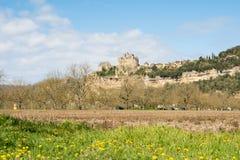 Beynac et cazenac, Франция Стоковая Фотография RF