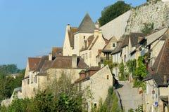 Beynac-et-Cazenac royalty-vrije stock foto