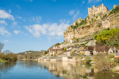 Beynac et cazenac, france Royalty Free Stock Photography