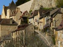 Beynac-et-Cazenac, Frankrijk Royalty-vrije Stock Foto's