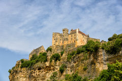 Beynac-et-Cazenac old castle Royalty Free Stock Photos
