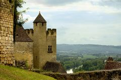 beynac france Royaltyfri Bild