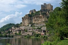 Beynac, France Stock Photos