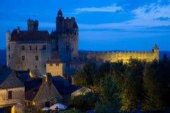 Beynac, France. Chateau de Beynac in Perigord, France Stock Images