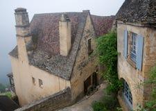 Beynac Frankrike Royaltyfria Foton