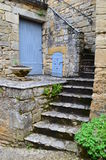 Beynac Pathway Royalty Free Stock Photo