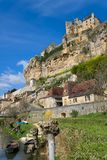 Beynac's castle Royalty Free Stock Photography