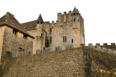 Beynac Schloss Stockfotografie
