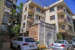 Beyoglu,伊斯坦布尔Cihangir区  免版税库存照片