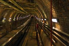 Beyoglu del túnel Fotos de archivo libres de regalías