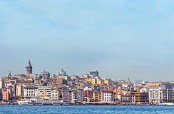 Beyoglu district historic architecture Stock Images
