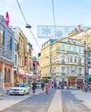 The Beyoglu district Royalty Free Stock Photo