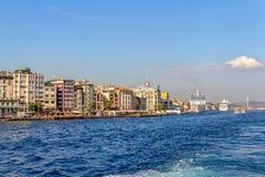 Beyoglu Istanboel Stock Fotografie
