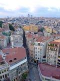 Beyoglu Istanboel royalty-vrije stock afbeelding