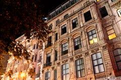 Beyoglu, Istanbuł Historyczni budynki obrazy stock