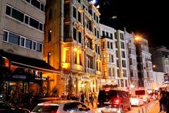 Beyoglu, Istanbuł Tepebasi Historyczny zdjęcie stock