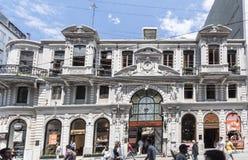 Beyoglu Istanbul die Türkei Stockbild