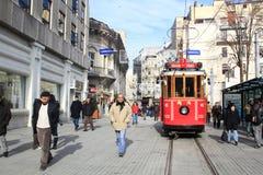 Beyoglu tram, Beyoglu/Istanbul/Turkey Stock Image