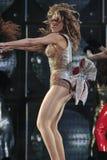 Beyonce ζωντανό στο Ο2 Λονδίνο Στοκ φωτογραφίες με δικαίωμα ελεύθερης χρήσης