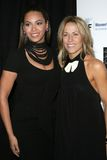 Beyonce, Beyonce Knowles, Sheryl Crow. Beyonce Knowles and Sheryl Crow at the 14th Annual Saks Fifth Avenue's 'Unforgettable Evening' benefiting the Royalty Free Stock Photography