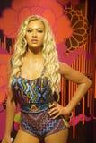 Beyonce Knowles lastbilschaufför fotografering för bildbyråer