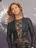 Beyonce Knowles. LOS ANGELES, CA - AUGUST 24, 2014: Beyonce Knowles at the 2014 MTV Video Music Awards at the Forum, Los Angeles Stock Image