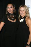 Beyonce Knowles, Sheryl Crow Stockbilder