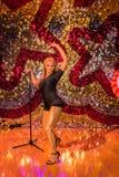 Beyonce. Madame Tussauds wax statue of Beyonce, Las Vegas Nevada Stock Photography