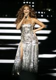 Beyonce Performs in Concert royalty free stock photo