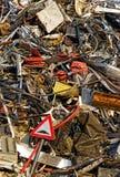 Beyond consumption society. Lies the junk yard Stock Photos
