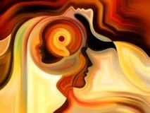 Beyond Inner Paint Stock Image