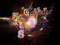 Beyond Numbers Royalty Free Stock Photos