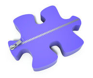 Beyond the puzzle Royalty Free Stock Photos
