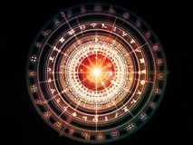 Beyond Sacred Geometry Royalty Free Stock Image