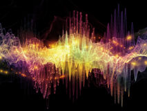 Beyond Sound Wave Stock Images