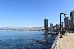 Beyrouth Corniche Image libre de droits
