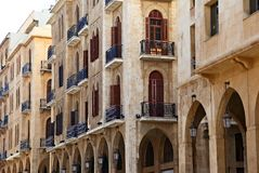 Beyrouth du centre Image stock