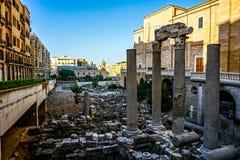 Beyrouth Roman Forum Ruins 03 image libre de droits