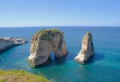 Beyrouth Rouche Images libres de droits