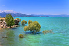 Beysehir lake Royalty Free Stock Images
